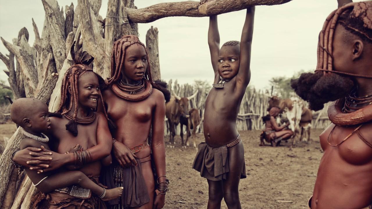 tribal nackte frau