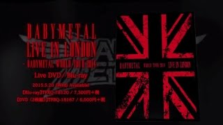 Babymetal Live In Londonbabymetal World Tour 2014- Trailer