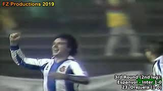 1987-1988 Uefa Cup: RCD Espanyol All Goals (Road to the Final)