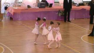 Ballroom dance competition - Girls pairs - Mishel and Gal