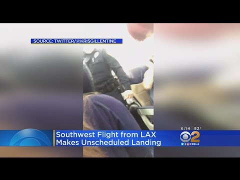 LAX To Houston Flight Diverts When Passenger Becomes Unruly