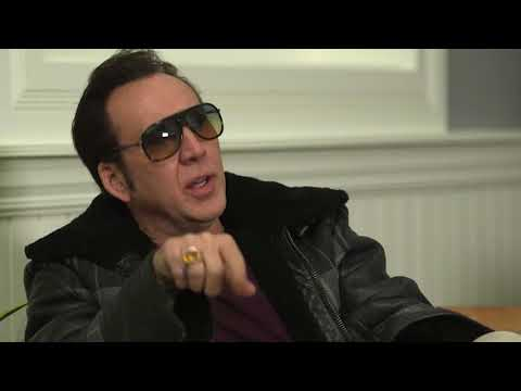 Nicolas Cage on movie distribution and the theater experience