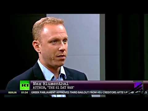 Max Blumenthal with Thom Hartmann-  Israel/Gaza War  in Depth - YouTube