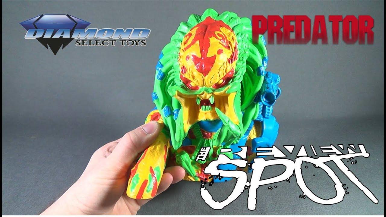 Diamond Select Toys Predator Masked Vinyl Bust Bank Toy