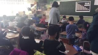 открытый урок в японии