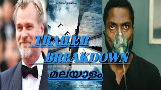 TENET Movie Trailer Breakdown മലയാളം