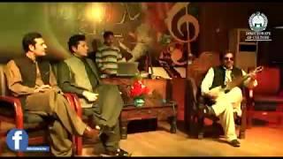 amjad malang playing melodious tune with rabab
