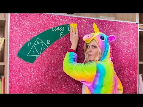 10 tiles Escolares De Unicornio vs tiles Escolares De Sirena