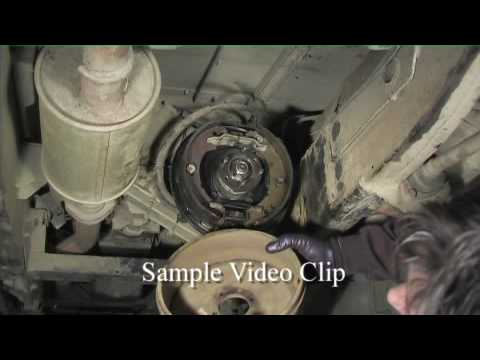 Land Rover 90 Handbrake Shoe Replacement Youtube