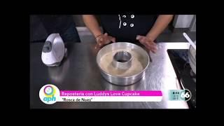 Pastel de Nuez En Vivo Television @reposteriaconluddys