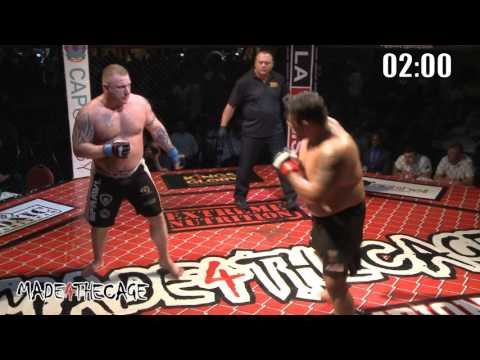 Made 4 The Cage 14 - Addicted - Neil Wain VS James Mulheron