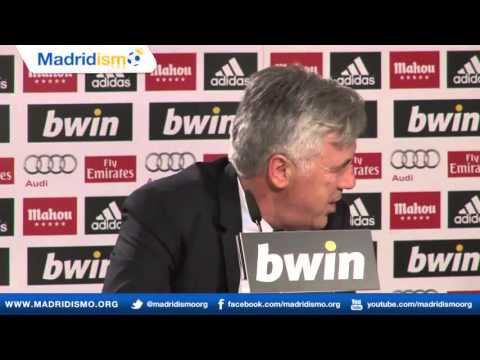 Rueda de Prensa de Carlo Ancelotti Español)