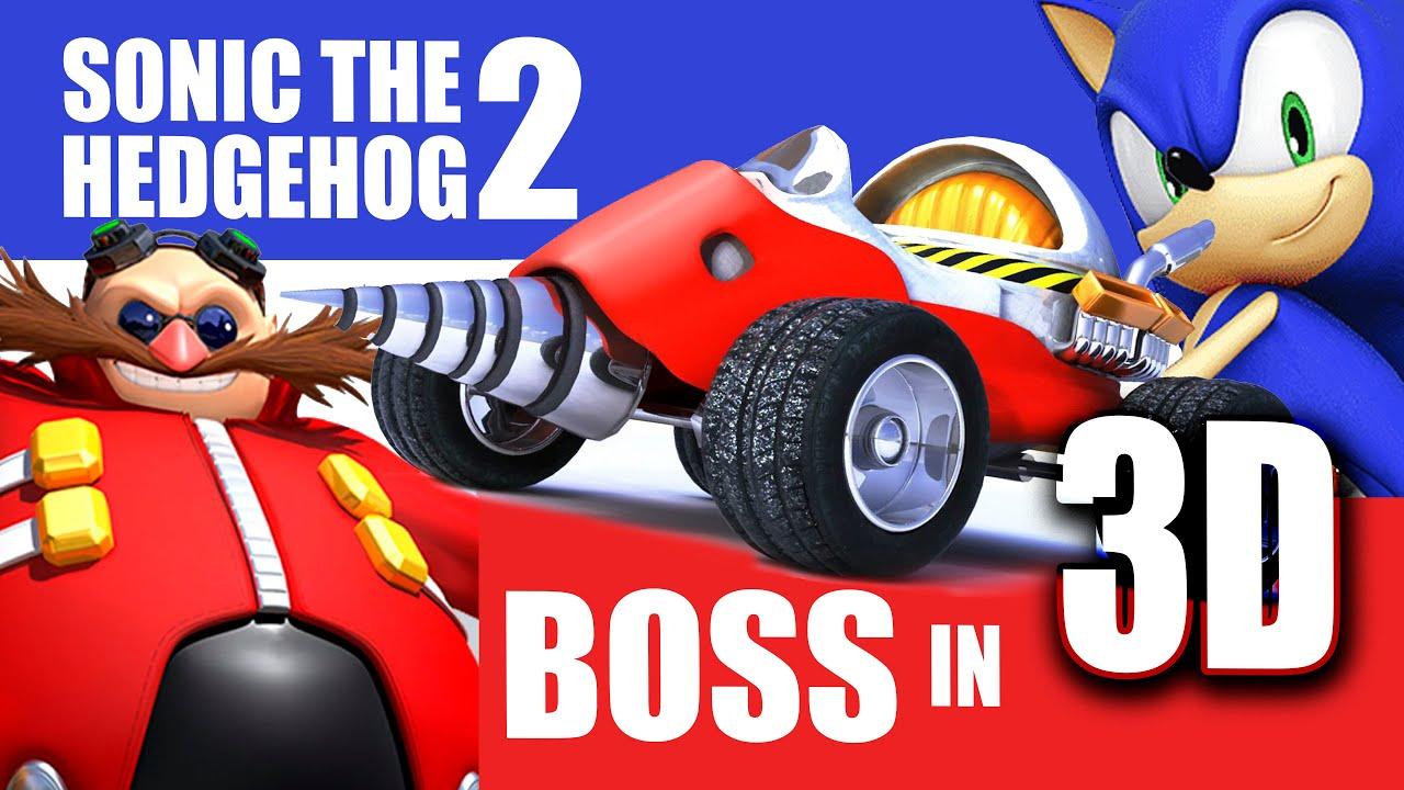 Sonic The Hedgehog Eggman Boss Vehicle Recreation Sega Youtube