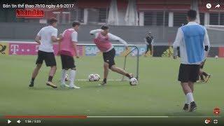 Tin Thể Thao 24h Hôm Nay (7h - 4/9): VL World Cup 2018 - Đức & Nauy Chuẩn Bị Trước Đại Chiến