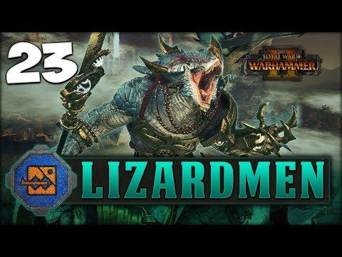 MORATHI THE MEDDLER! Total War: Warhammer 2 - Lizardmen Campaign - Kroq-Gar #23