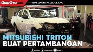 Ubahan Tangguh Mitsubishi Triton Buat Pertambangan