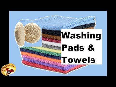 How To  Wash Microfiber Towels & Buffing Pads
