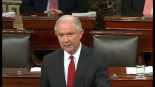 Jeff Sessions farewell speech to Senate