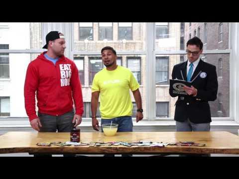 Furious Pete and UFC's Dennis Bermudez take on lemon juice drinking challenge