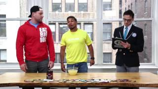 Furious Pete and UFC fighter take on lemon juice drinking challenge - Guinness World Records
