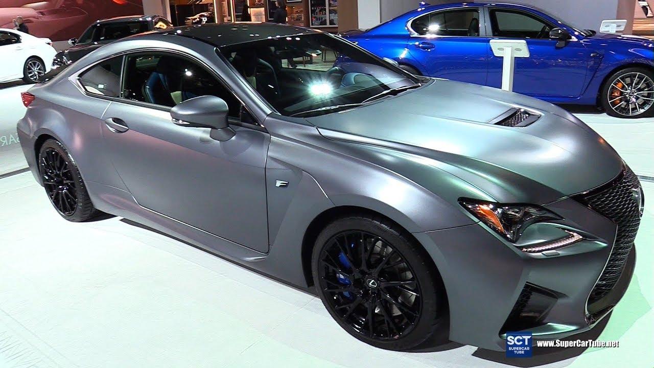 2018 Lexus Rc F 10th Anniversary Edition Exterior And Interior Walkaround Chicago Auto Show