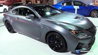 2018 Lexus RC F 10th Anniversary Edition - Exterior and Interior Walkaround - 2018 Chicago Auto Show