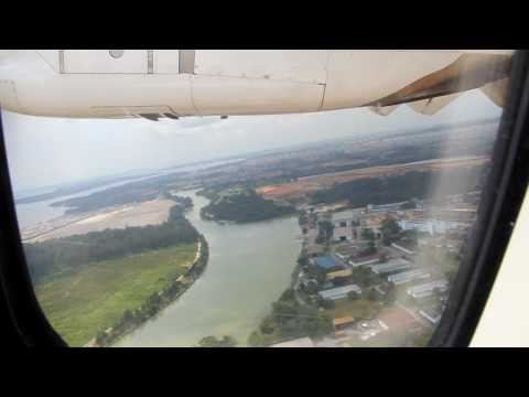 Taking off from Seletar Airport Singapore
