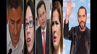 Reacciones de ARENA y FMLN