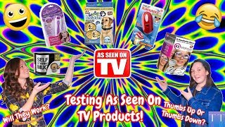 Testing As Seen On TV Products! ~Taylor Treasures S4-E20