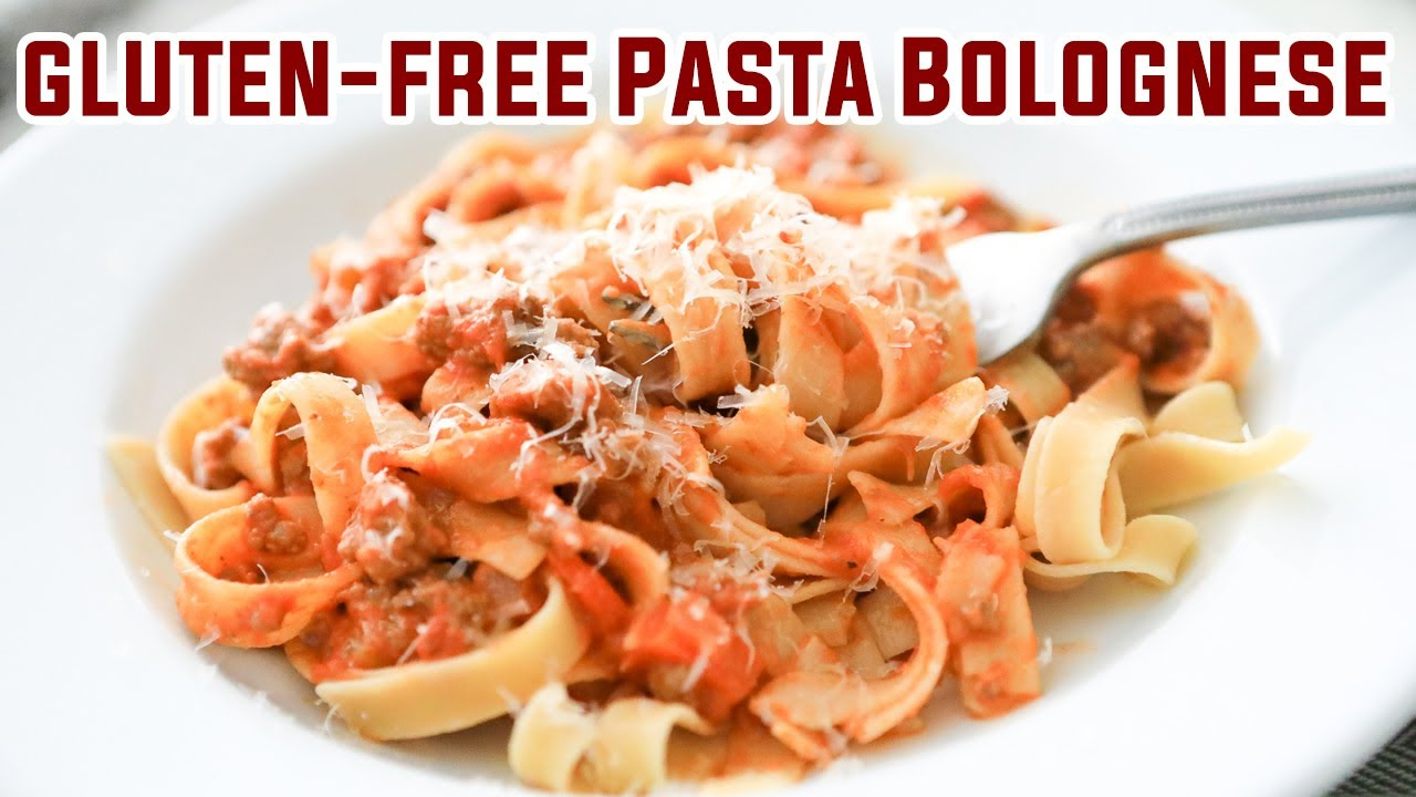 How to make Gluten-free Pasta Bolognese