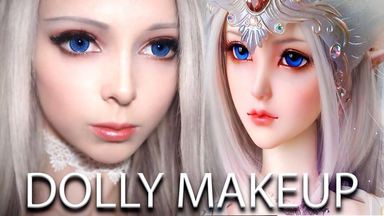 Bjd Doll Makeup Tutorial Dolly Eyes Alina Kovalevskaya You