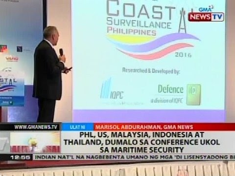 PHL, US, Malaysia, Indonesia at Thailand, dumalo sa conference ukol sa maritime security