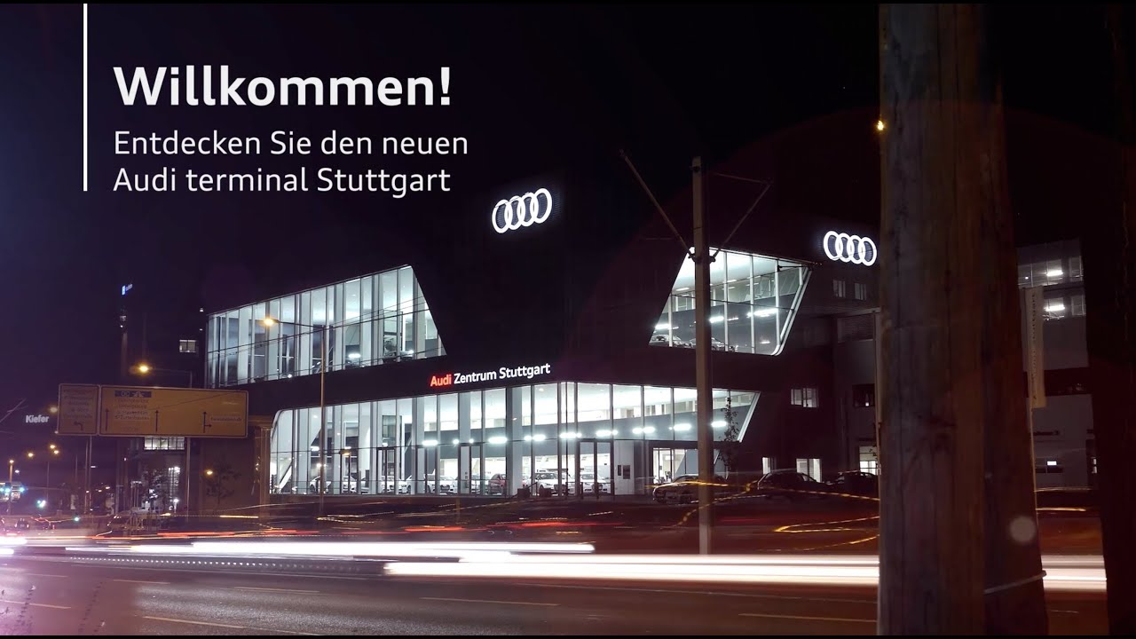 audi zentrum stuttgart 2013 youtube. Black Bedroom Furniture Sets. Home Design Ideas