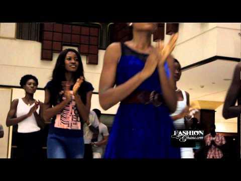 Ghanaian Models Speak @ Glitz Africa Fashion Week 2014 Rehearsals