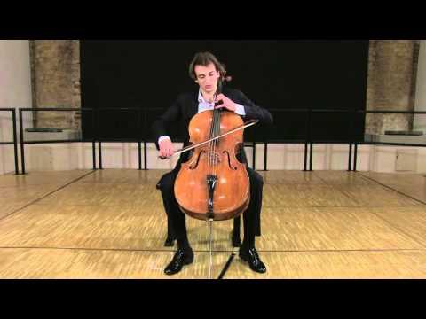 C. A. Piatti: Caprice No. 7, Christoph Croisé, Violoncello