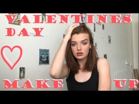 Valentines Day Makeup Tutorial // Hope Ellen