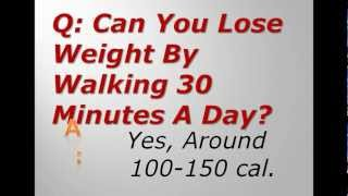 Can You Lose Weight By Walking 30 Minutes A Day?