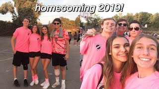 WEEK IN MY LIFE (homecoming!)