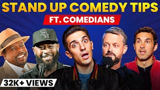 Stand Up Comedy Tips From Comedians (Cedric the Entertainer, Andrew Schulz, Nate Bargatze)