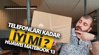 TELEFONLARI KADAR İYİ Mİ? - Huawei MateBook 13 Kutu Açılışı