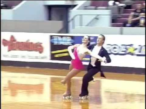 Tony Deluca and Chelsea Hinkle skate the Flirtation Waltz at Nationals 2008 (CD Quality)