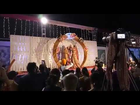 "55""""@+UNFORGETTABLE """"RING JAIMALA THEME""""+ENTRY FOR++ BRIDEGROOM IN GLOBE punjab"