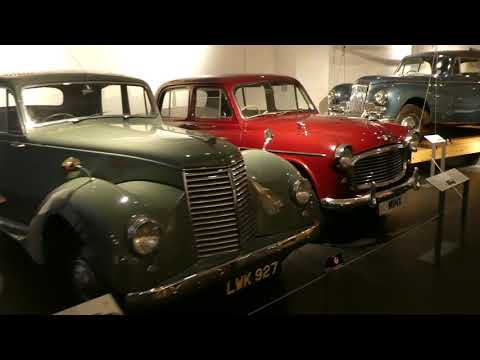 Automobile Museum in Coventry, 4K UK Travel Video