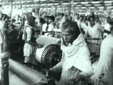Queen Elizabeth Visits Adamjee Jute Mills