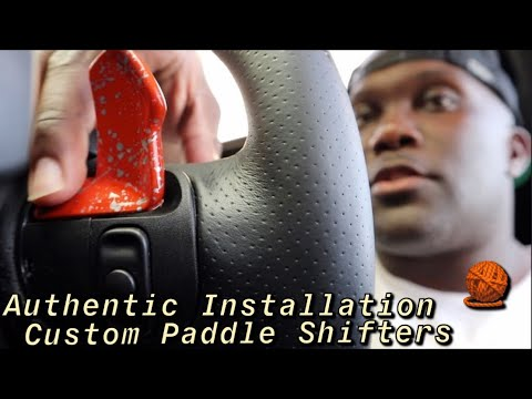 Installing Custom Paddle Shifters To My Scat Pack Charger | Authentic Benny | More Mods Coming ...
