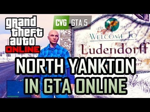 GTA Online: North Yankton in GTA Online and how to get there