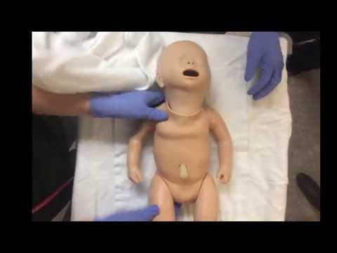 Demo Of Positive Pressure Ventilation In The Newborn