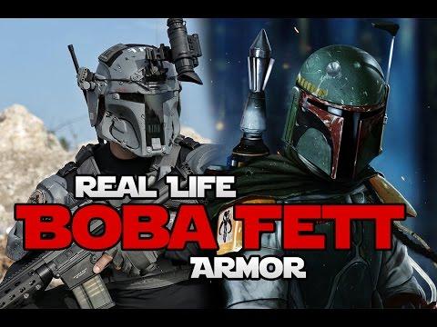 Real Life Boba Fett Armor (Mandalorian) | Generation Tech