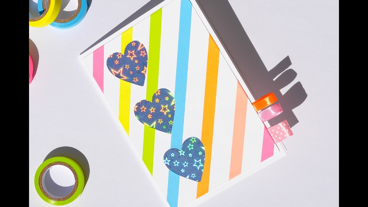 How To Make Easy Greeting Card Holographic Step By Step Kartka