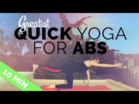 The Best Yoga Workout for Your Abs